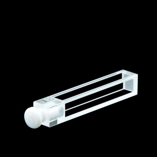 Teflon Stopper 5mm Path Length Fluorescence Cuvette