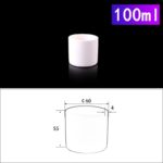 C230, Cylindrical Crucible, 100ml, 60x55mm, Alumina Crucible NO Cover (5pc/ea)