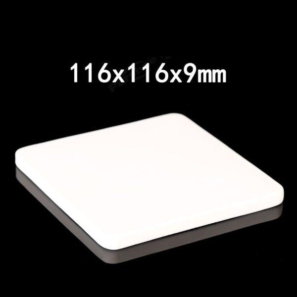 116x116x9mm-alumina-plate