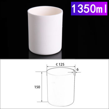 1350ml-cylindrical-alumina-crucible-without-cover