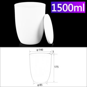 1500ml-alumina-conical-crucible-with-cover