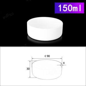 150mL Cylindrical Alumina Crucible without Cover
