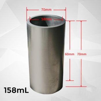 158ml-cylindrical-graphite-crucible