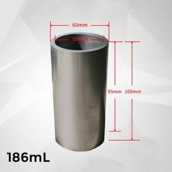 186ml-cylindrical-graphite-crucible