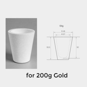 200g-gold-melting-quartz-crucible