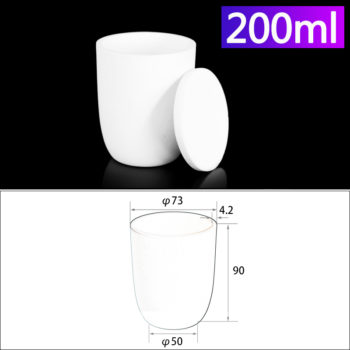 200ml-alumina-conical-crucible-with-cover