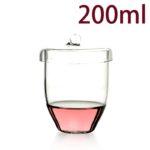 C703, Quartz Crucible, 200ml, 1100-1450°C, 300-800nm (1pc/ea)