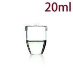 C698, Quartz Crucible, 20ml, 1100-1450°C, 300-800nm (5pc/ea)