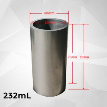 232ml-cylindrical-graphite-crucible