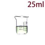 C712, Quartz Beaker, 25ml, 1100-1450°C, 300-800nm (5pc/ea)
