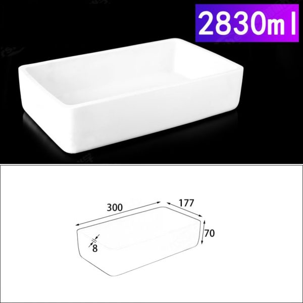 2830ml-rectangular-crucible-without-cover