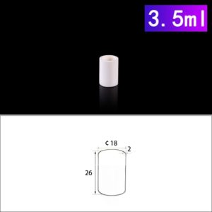 3.5mL Cylindrical Alumina Crucibles without Cover
