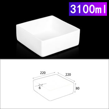 3100ml-rectangular-crucible-without-cover