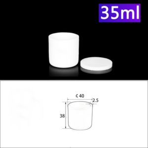 35ml Alumina Crucibles with Cover Cylindrical