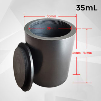 35ml-screw-cover-graphite-crucible-melting-metal