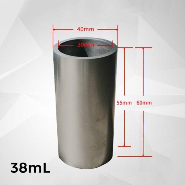 38ml-cylindrical-graphite-crucible