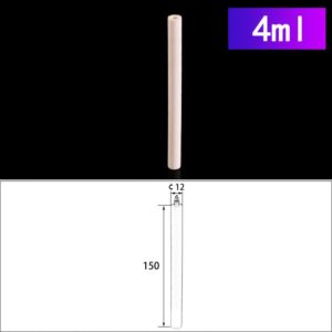 4mL Cylindrical Alumina Crucibles without Cover