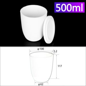 500ml-alumina-conical-crucible-with-cover
