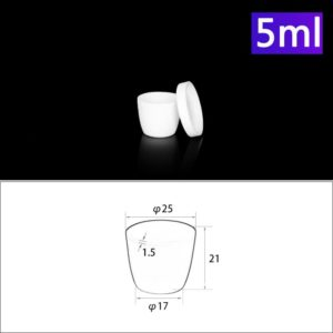 5ml-alumina-conical-crucible-with-cover
