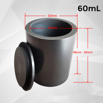 60ml-screw-cover-graphite-crucible-melting-metal