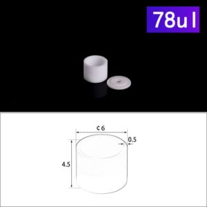 78ul-thermal-analysis-cylindrical-micro-crucibles-with-cover