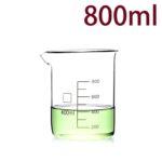 C723, Quartz Beaker, 800ml, 1100-1450°C, 300-800nm (1pc/ea)