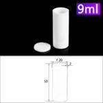 C122, Cylindrical Crucible, 9ml, φ20x50mm, Alumina Crucible with Cover (5pc/ea)