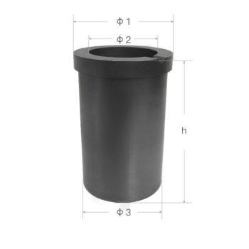 black-graphite-crucibles-size