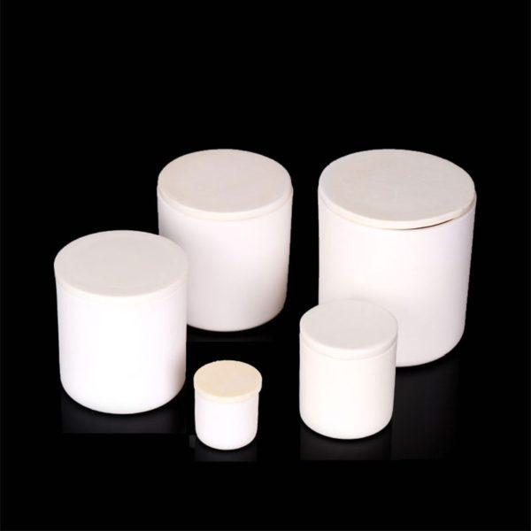 Cylindrical Alumina Crucibles