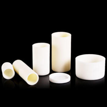 Cylindrical ALumina Crucibles for Sale