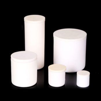 Cylinrical Alumina Crucibles Including Cover