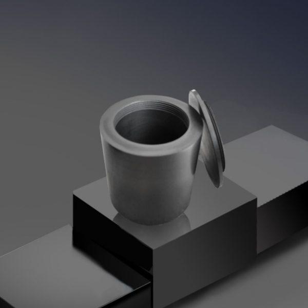 screw-cover-graphite-crucible-melting-metal