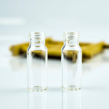 9mm 1.5mL Sample Glass Vial No Mark