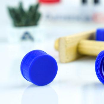 9mm Agilent Compatible HPLC Vial Cap