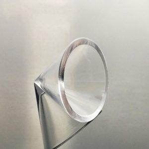 Custom Clear Quartz Cone