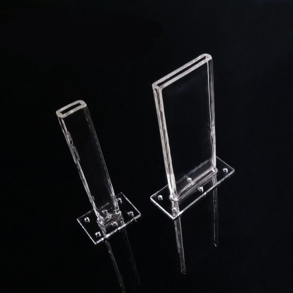 Custom Long Mouth Quartz Glass Cuvette
