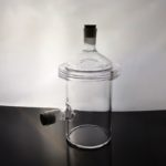 Custom Quartz Glass Reactor Single Layer (1)