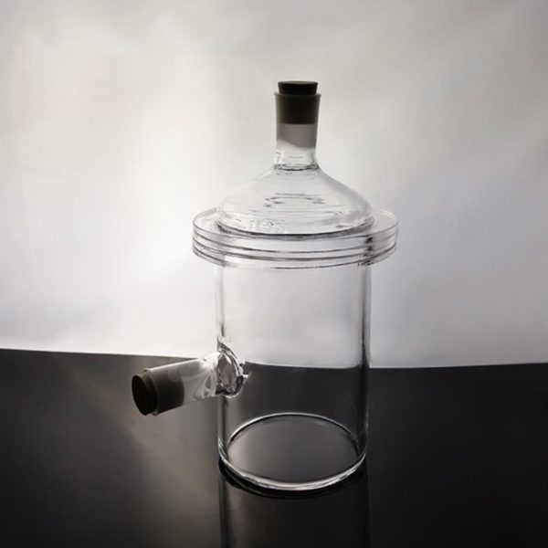 Custom Quartz Glass Reactor, Single Layer