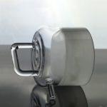 QT084, Custom Quartz Glass Stove Cap