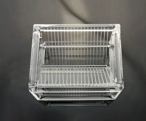 Custom Quartz Glass Wafer Cleaning Basket