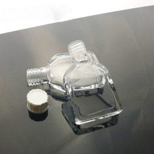 Custom Cuvette Bottle with Screw Thread Cap