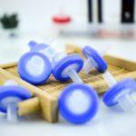 FS010, MCE, 13mm Diameter, 0.45μm Pore Size, Syringe Filter, Non-sterile, 100pc/ea